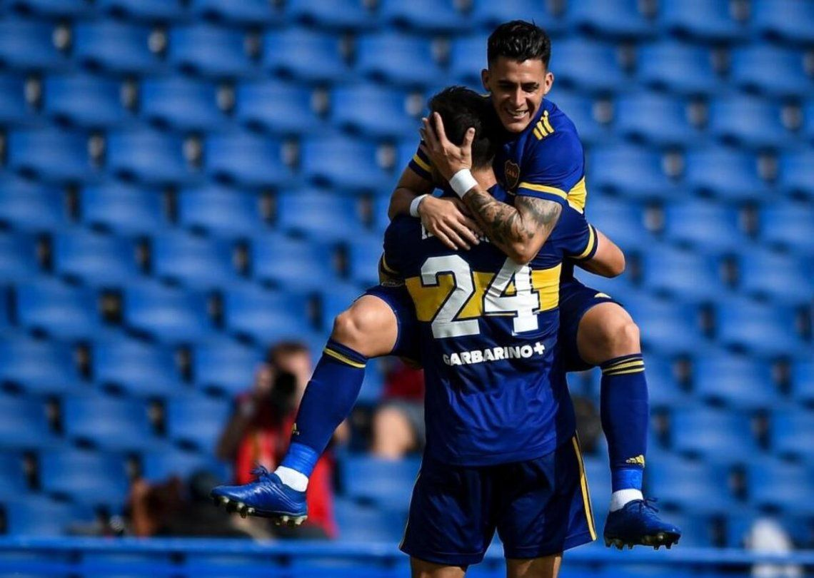 Boca ganó 1-0 de local ante Lanús.