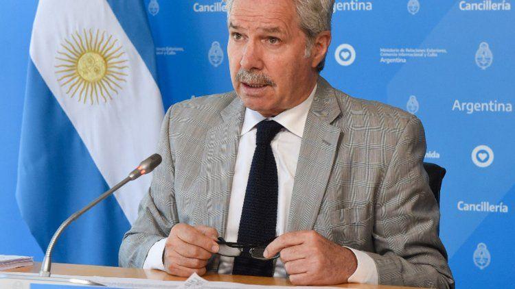 Felipe Solá, canciller argentino.