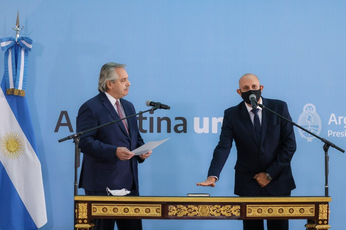 Alexis Guerrera juró como ministro de Transporte de la Nación.