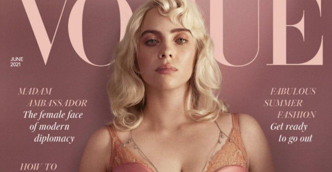 Billie Eilish protagoniza la portada de Vogue UK con un look totalmente inesperado.