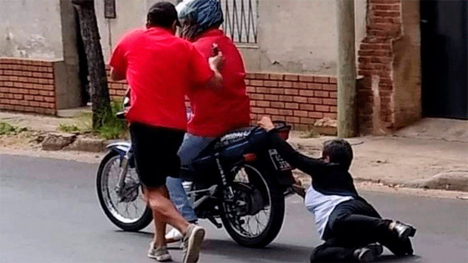 Entre Ríos: ataque de motochorros.