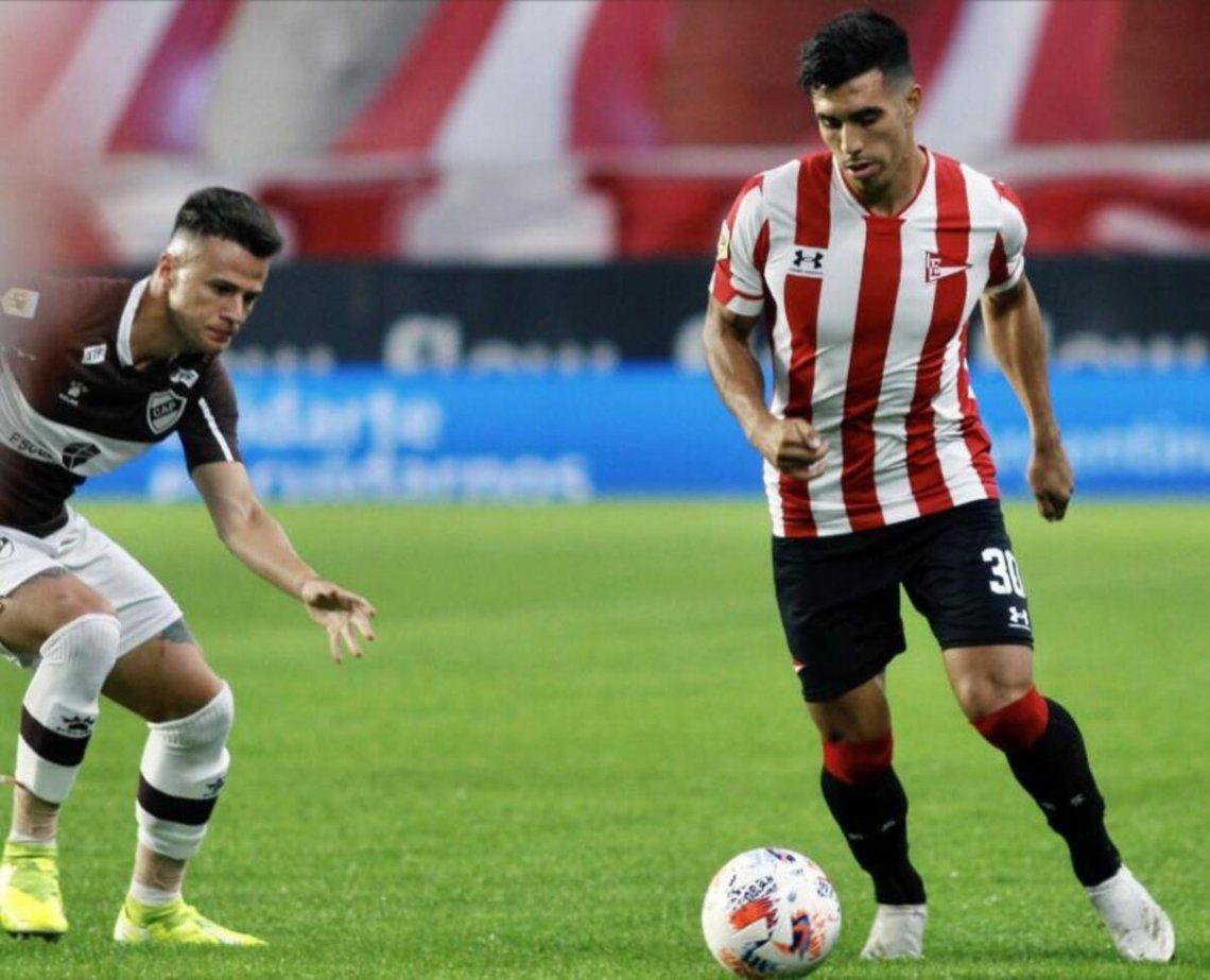 Estudiantes gana de local 2-0 ante Platense.