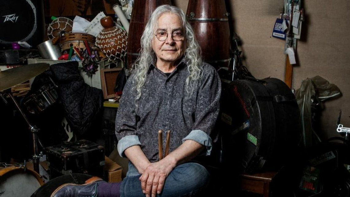 Murió Rodolfo García, baterista de Almendra y Aquelarre