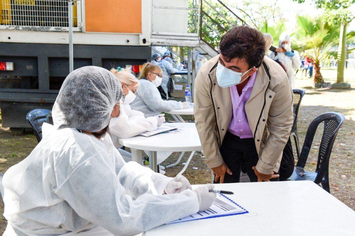Espinoza enfatizó sobre la necesidad de redoblar esfuerzos contra el coronavirus