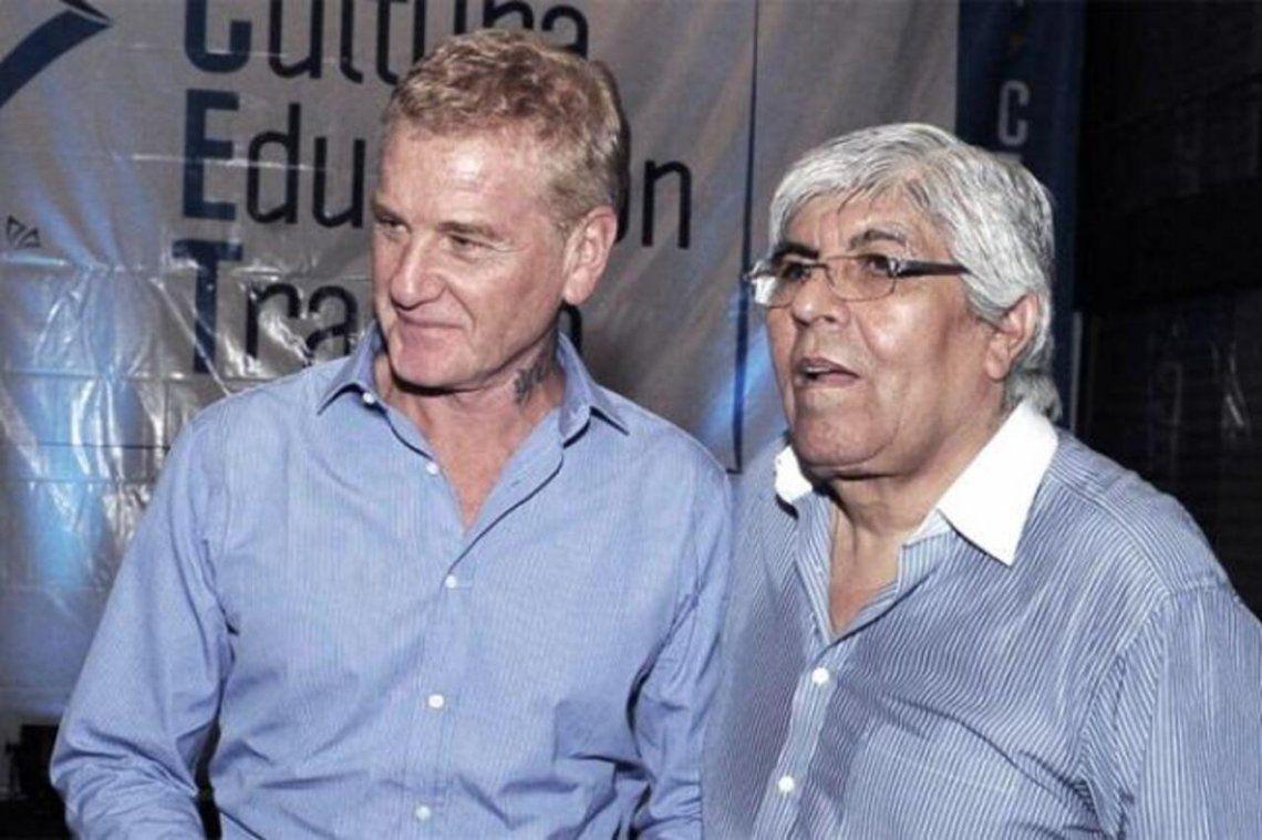 Francisco De Narváez y Hugo Moyano acordaron el pago de un bono compensatorio para los 505 trabajadores de logística.