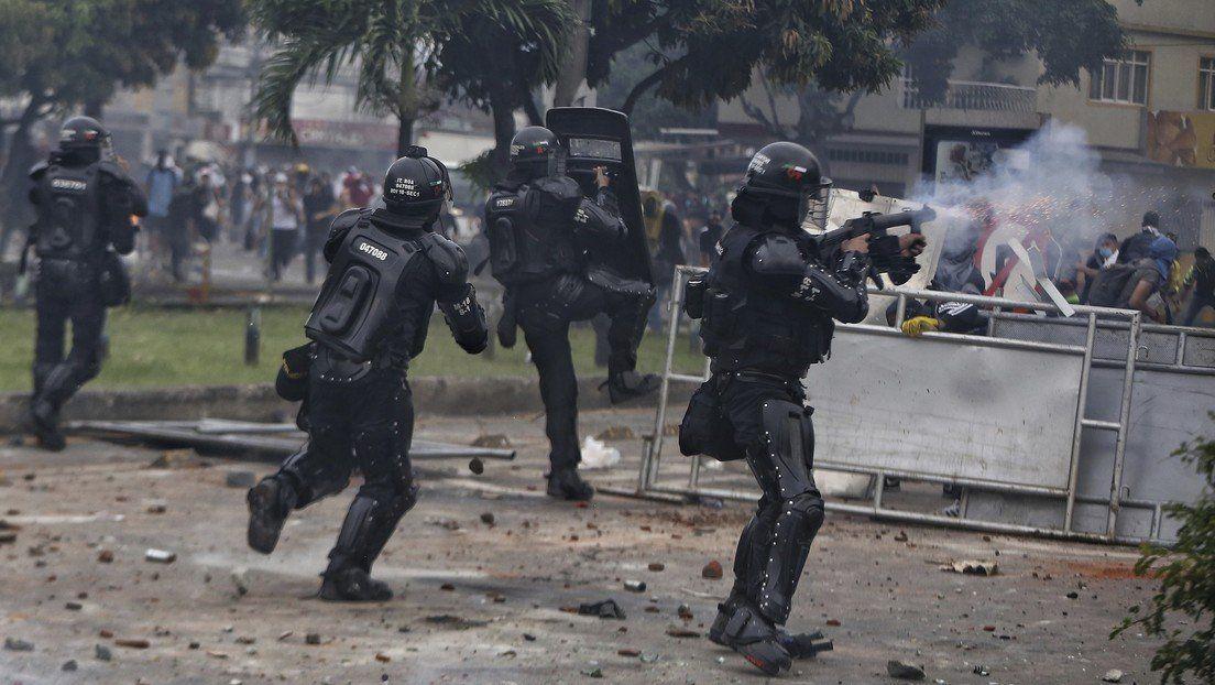 Colombia: René Pérez registró las protestas.