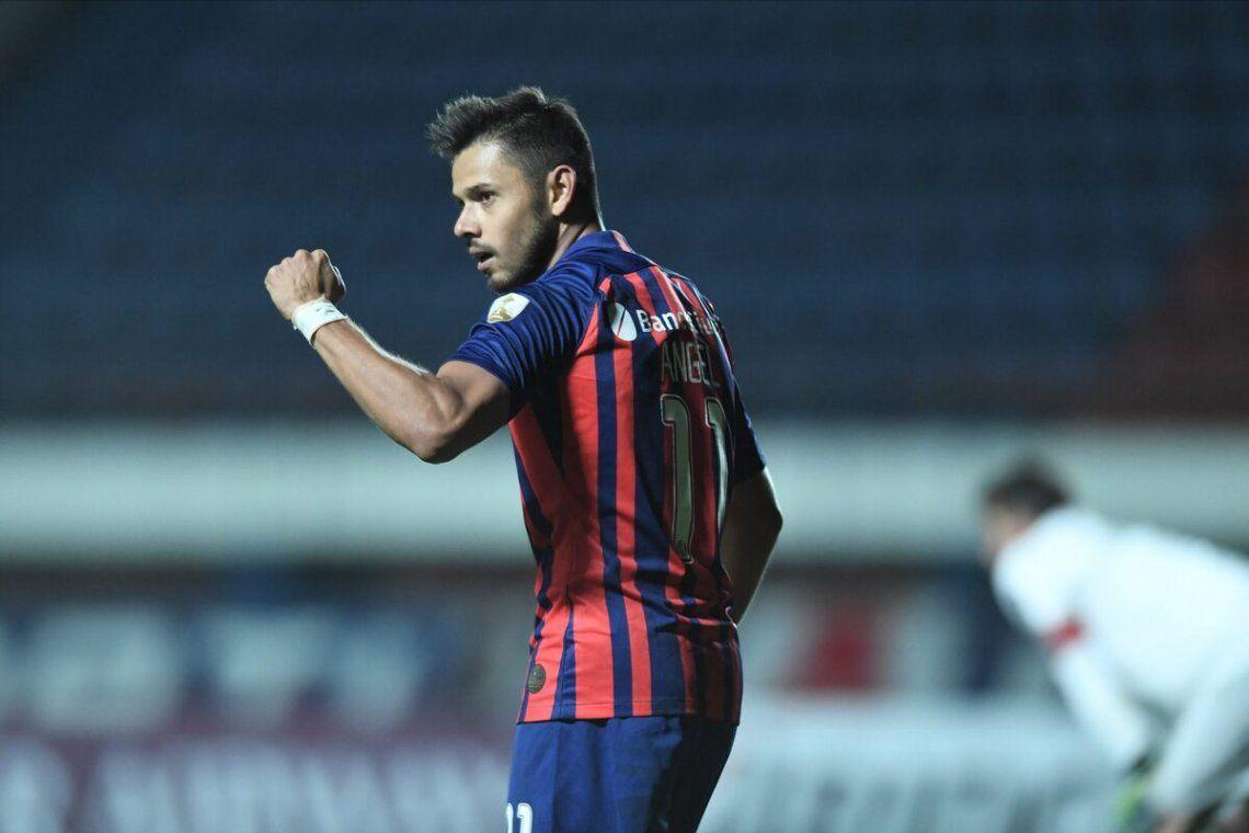 San Lorenzo no podrá contar con Ángel Romero