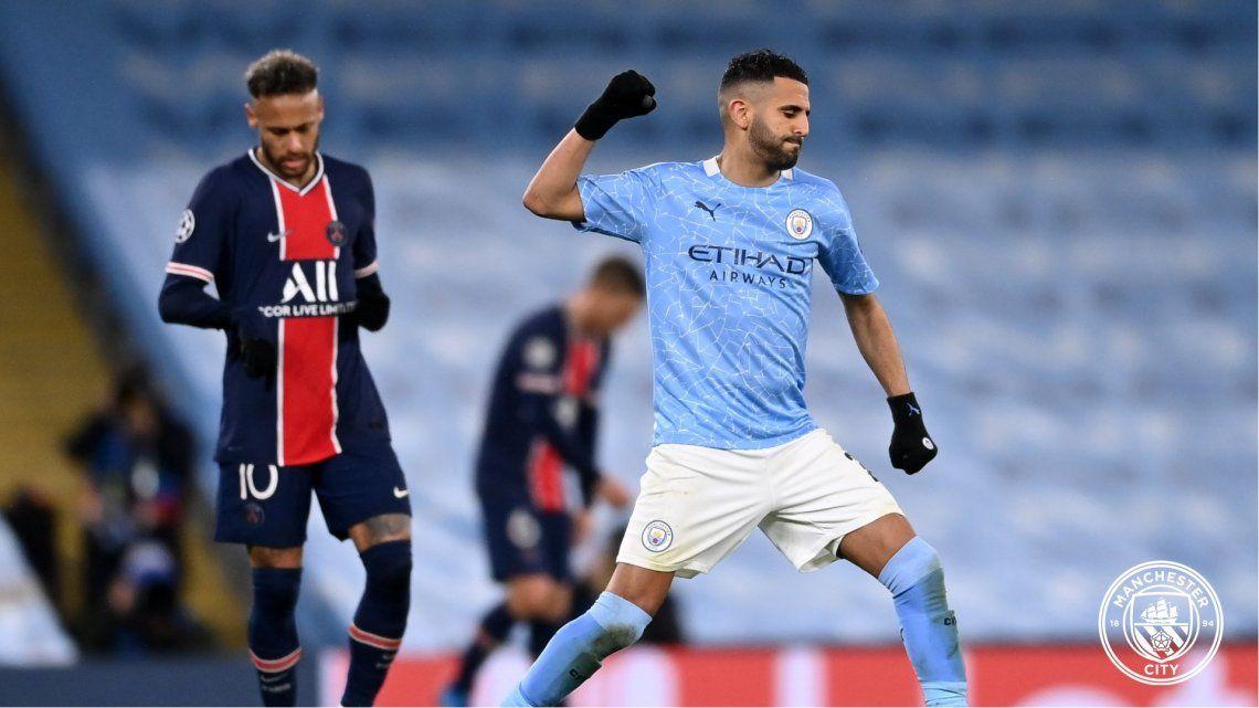 Manchester City llegó a la final de la Champions League