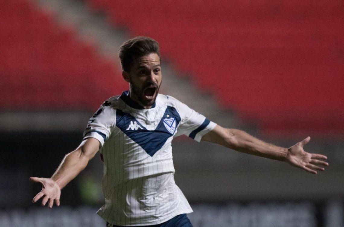 Vélez le ganó 2-0 a Unión La Calera en la tercera fecha de la Copa Libertadores.