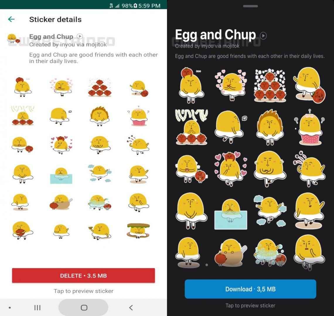 WhatsApp tiene nuevos packs de stickers: cómo descargarlos