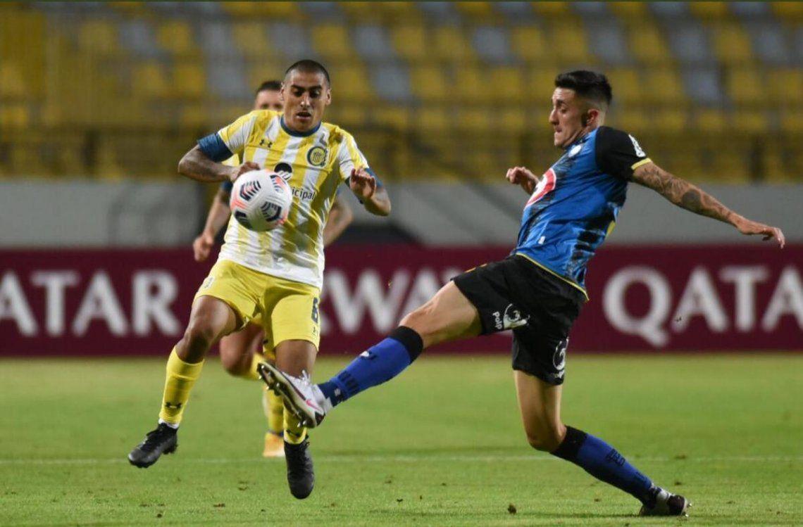 Rosario Central empató 1-1 con Huachipato por la Copa Sudamericana.