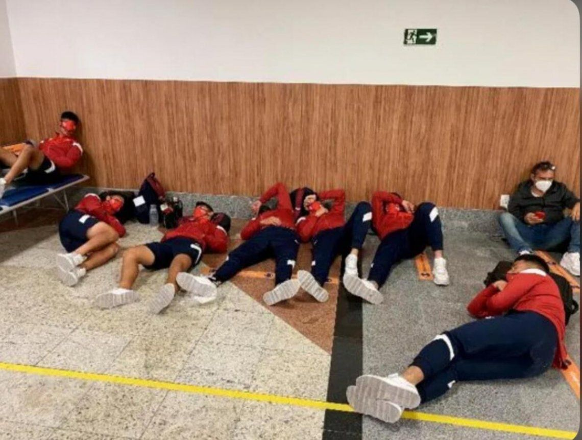 Tarragona habló sobre la situación que vivió Independiente.