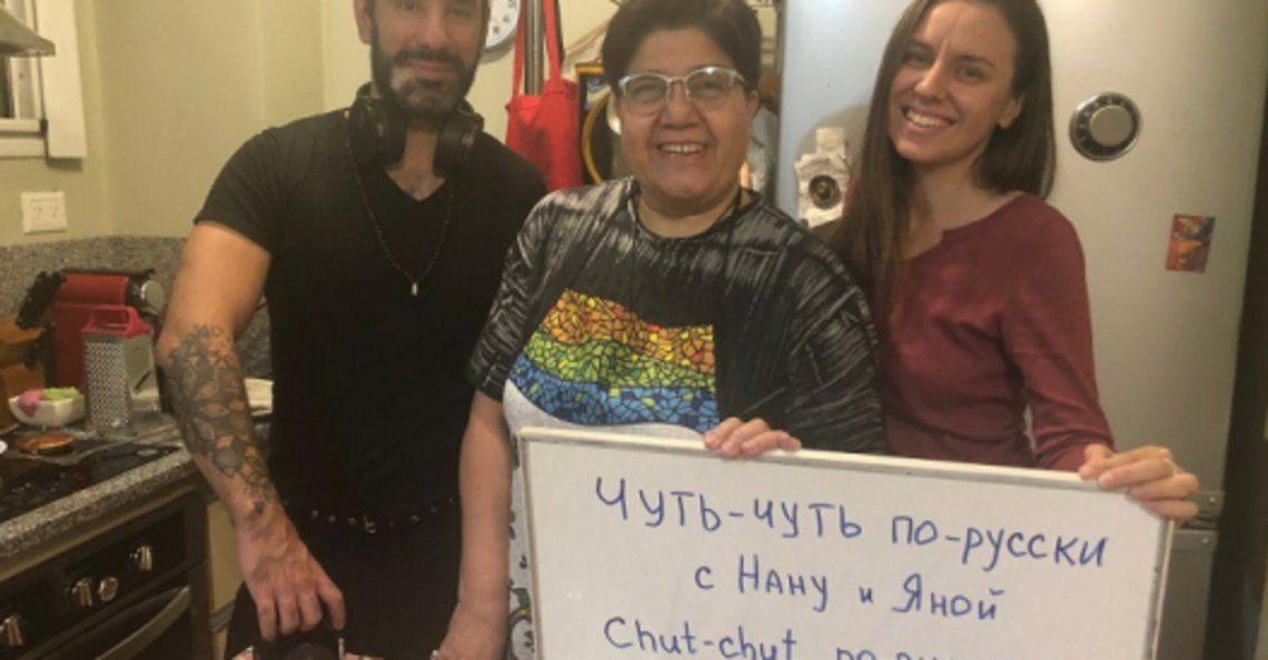 Comida y cultura de Rusia en un programa de Youtube conducio por Nanu y Yanu