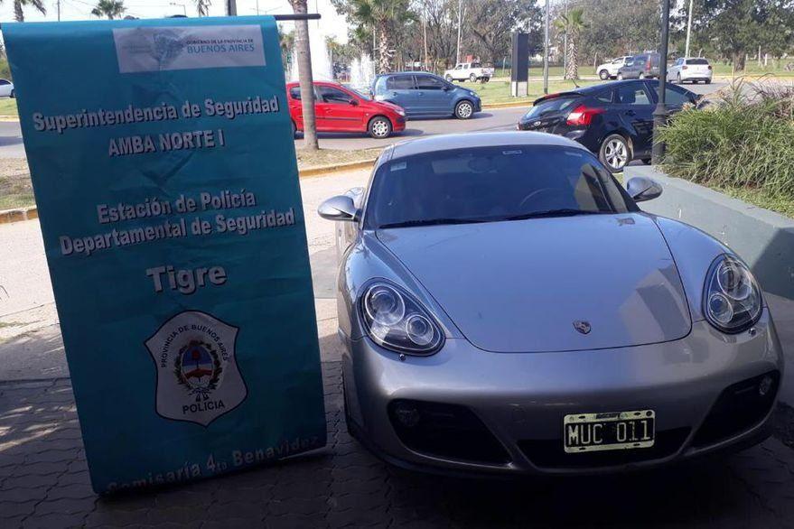 Golpeó a su mujer y huyo de la casa de Nordelta a bordo de un Porsche
