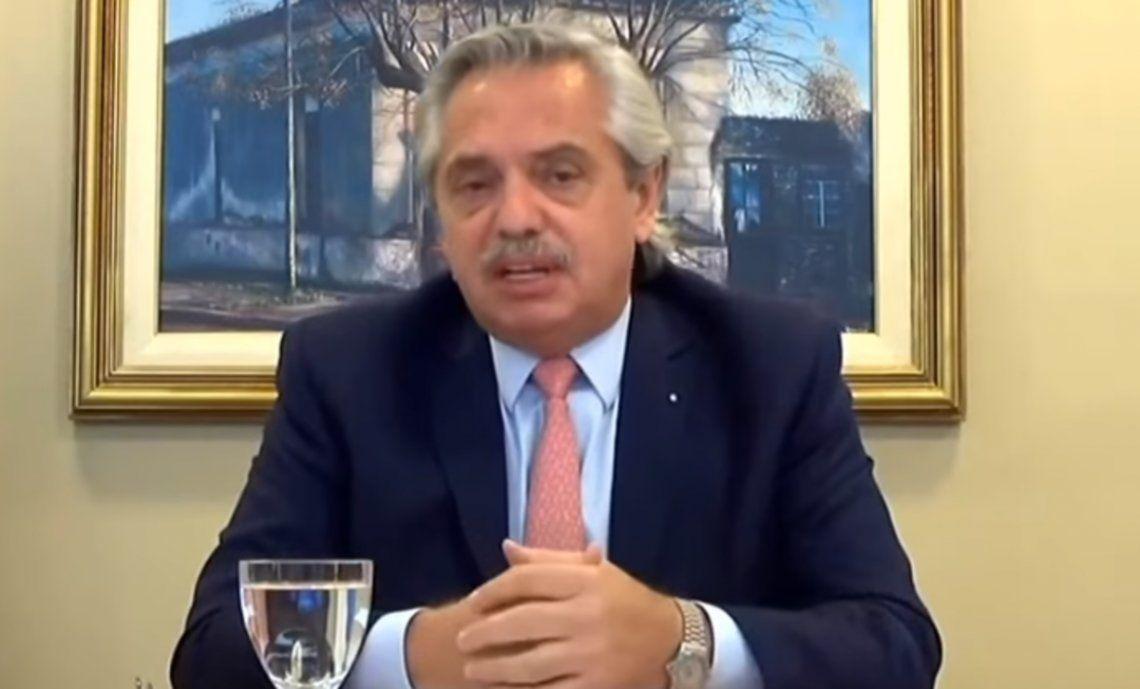 Presidente Alberto Fernández.