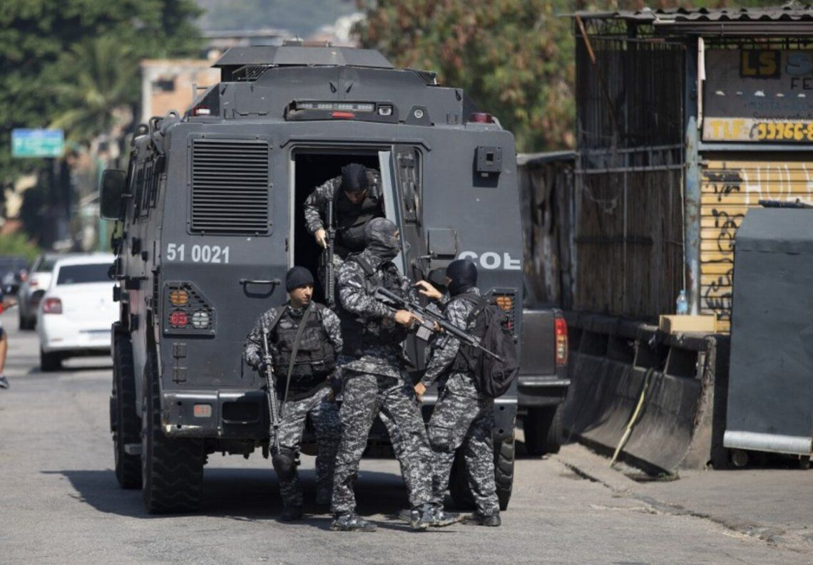 Rio de Janeiro - 25 muertos durante operativo antinarcos