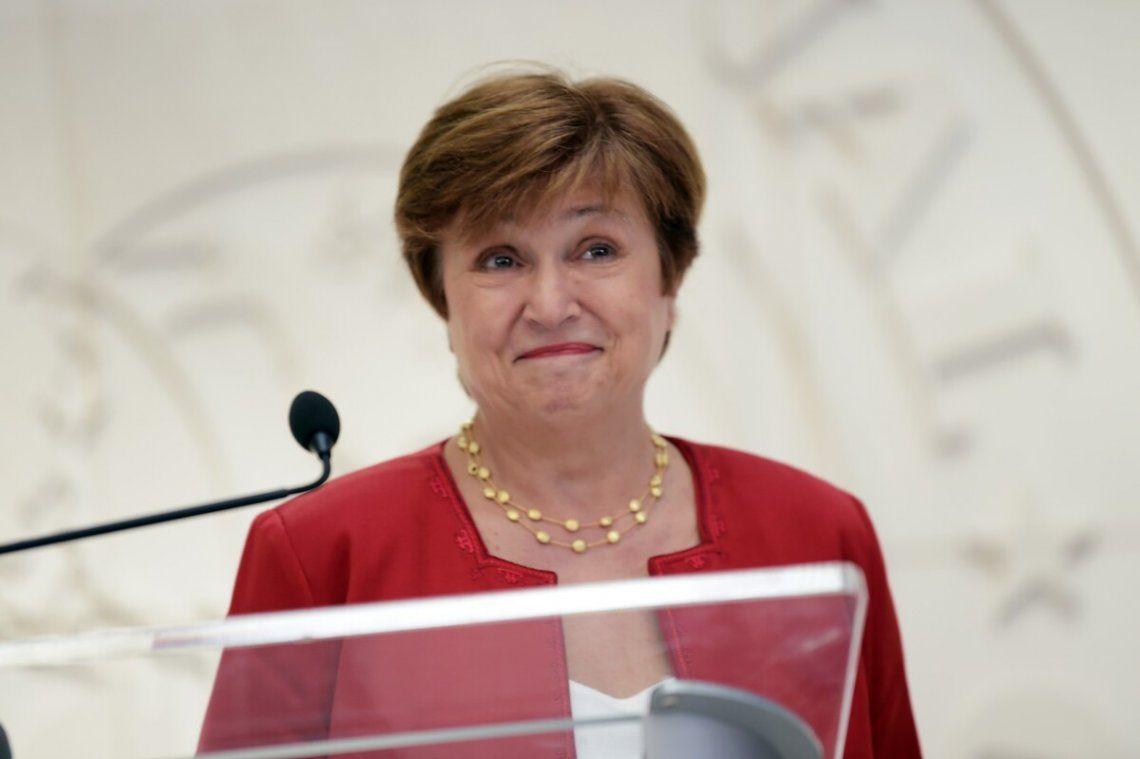 La directora gerente del FMI