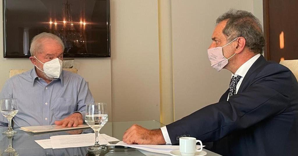 Lula da Silva y Scioli hablaron sobre integración y Mercosur.