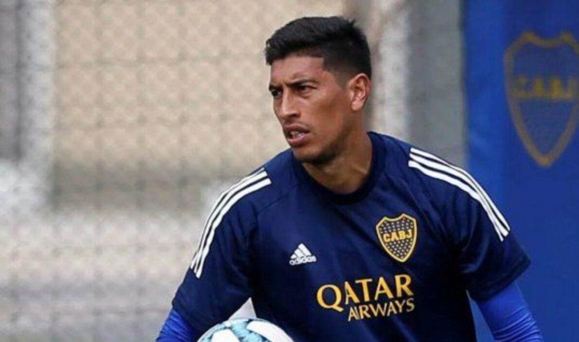 Esteban Andrada quiere volver al arco cuanto antes.