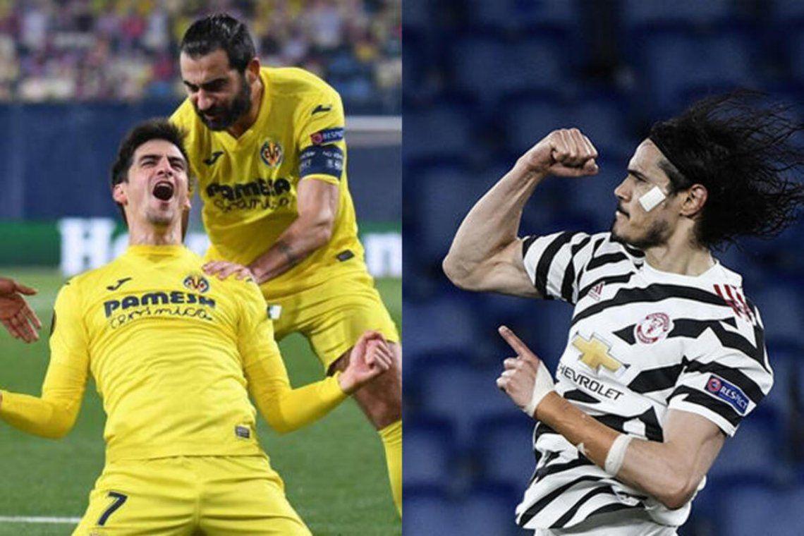 Villarreal y Manchester United finalistas de la Europa League.