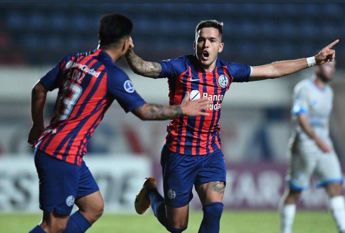 San Lorenzo empató 1-1 con 12 de Octubre en la fecha 3 de la Copa Sudamericana.