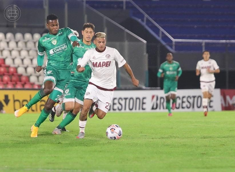 Buena victoria de Lanús en Paraguay