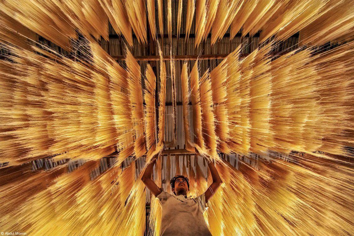 Premio Fujifilm a la innovación: elaboración de fideos de arroz por Abdul Momin