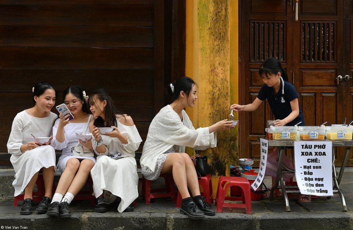 Comida callejera: disfrutando de Viet Van Tran
