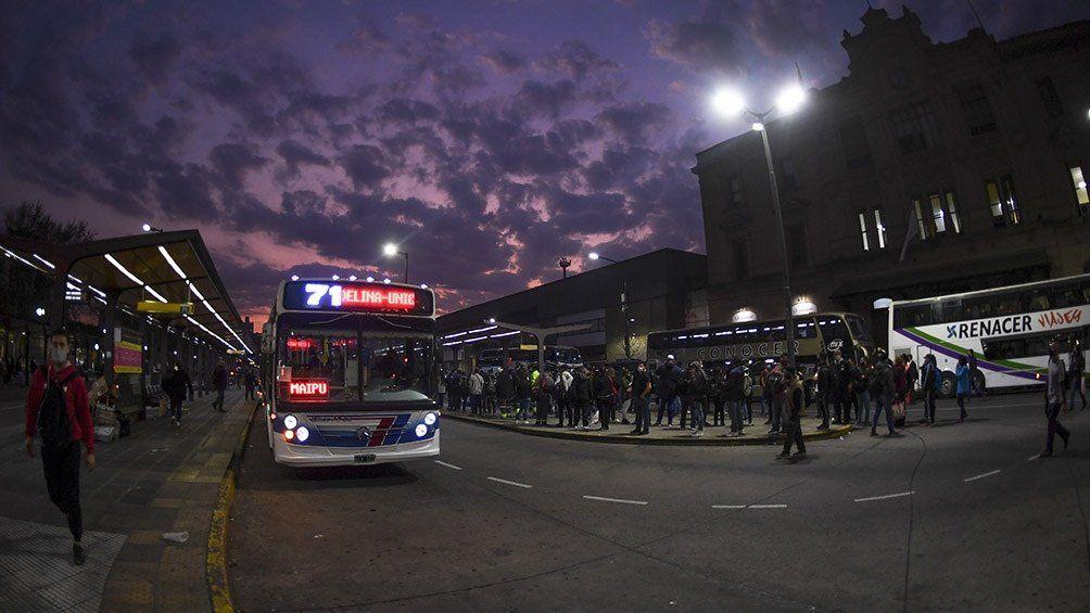 Las empresas de colectivos que no presten servicios serán sancionadas