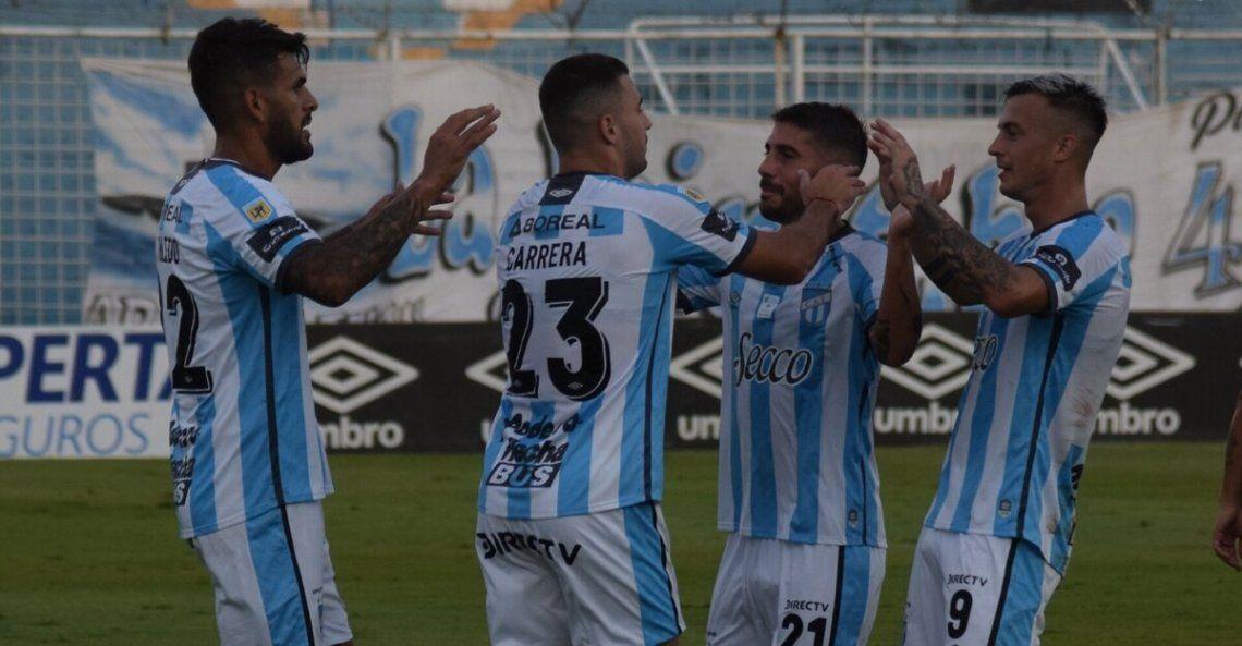 Atlético Tucumán se floreó ante Defensa y Justicia.