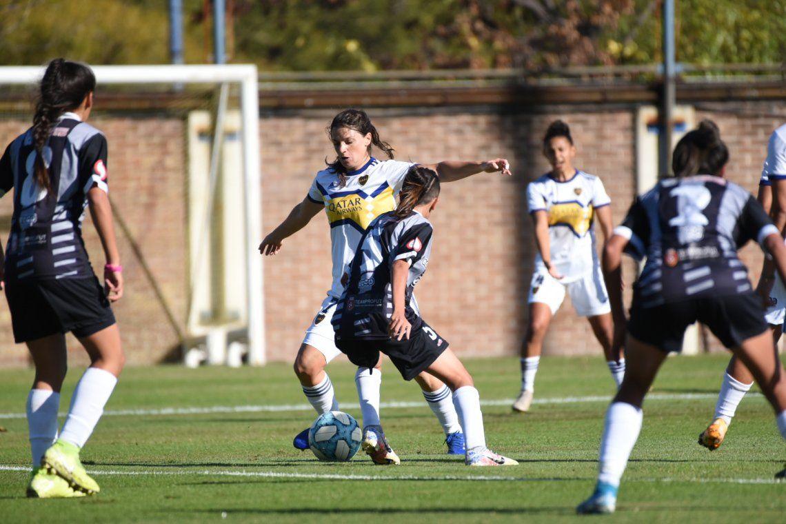 Boca goleó en fútbol femenino y está en la punta