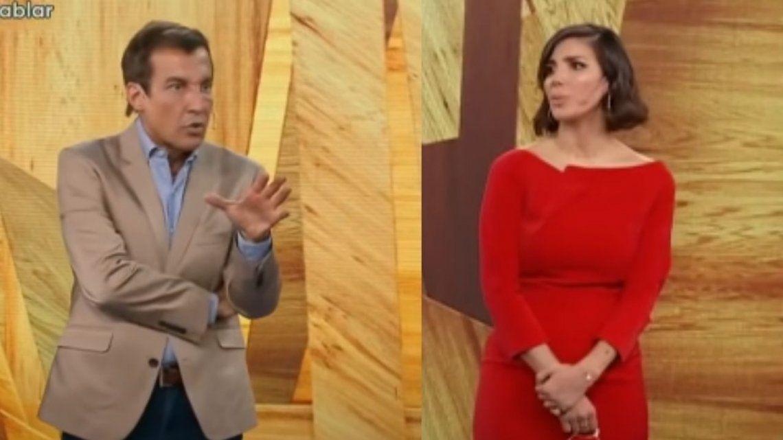 Andrea Rincón fue adicta a las drogas y cruzó a Paulo Vilouta por el mensaje que estaba dando.