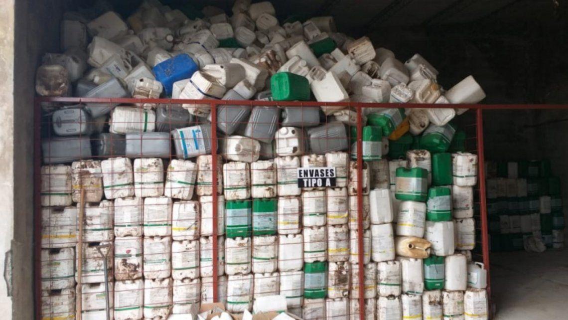 Provincia: Sanción ejemplar a agroquímicas que no recuepraron envases