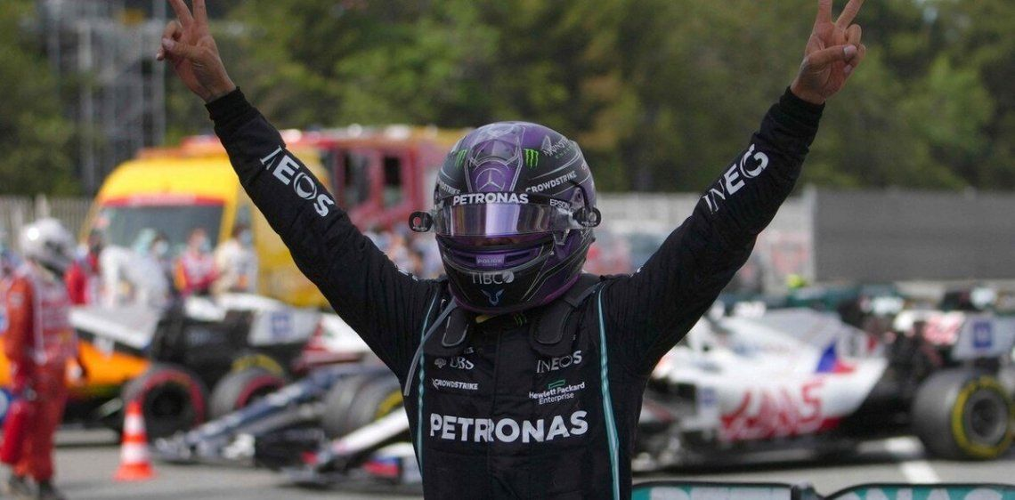 Hamilton se llevó el Gran Premio de España de Fórmula 1.