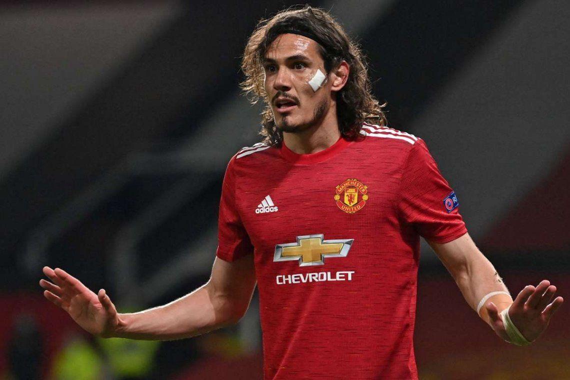 Cavani se queda en el Manchester United