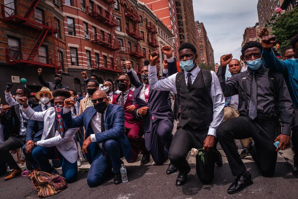 Black Lives Matter protesta mejor vestida