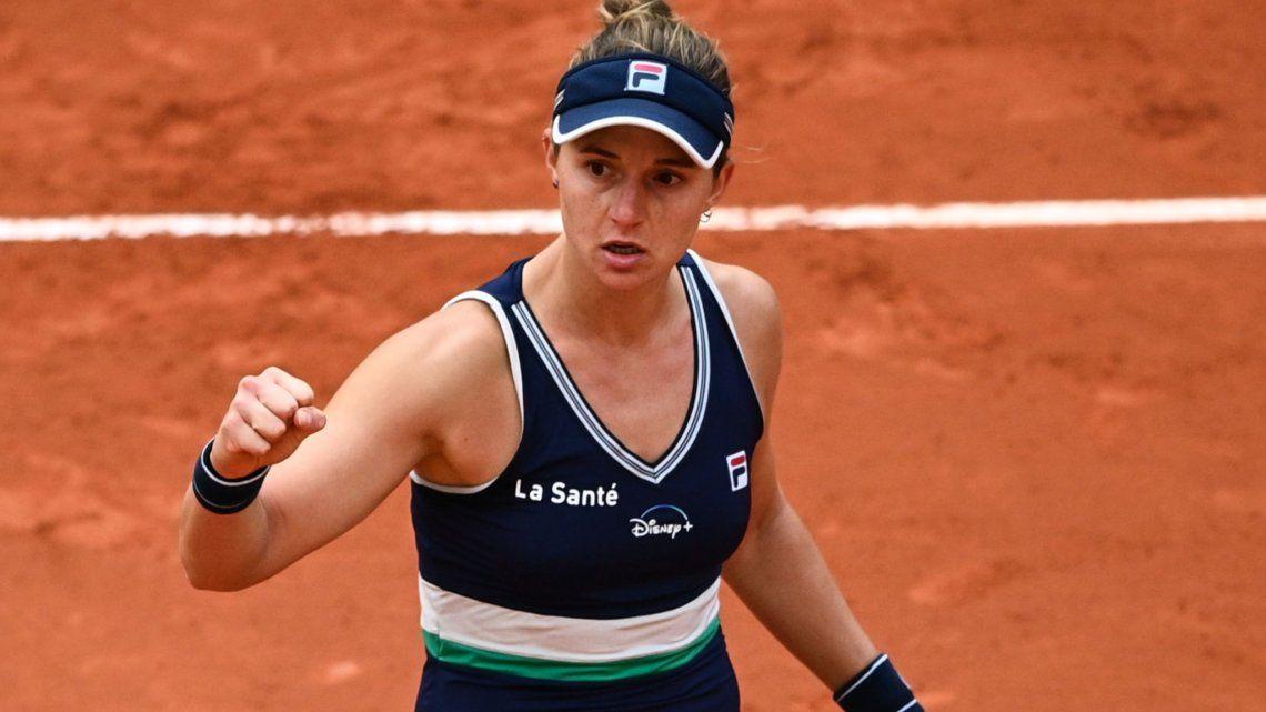 Nadia Podoroska avanza en Roma y se medirá con Serena Williams