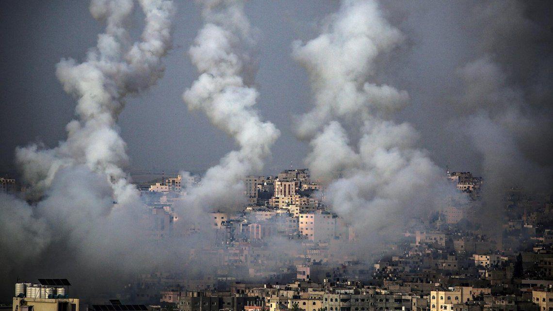 Unas 125 personas resultaron heridas en la Franja de Gaza