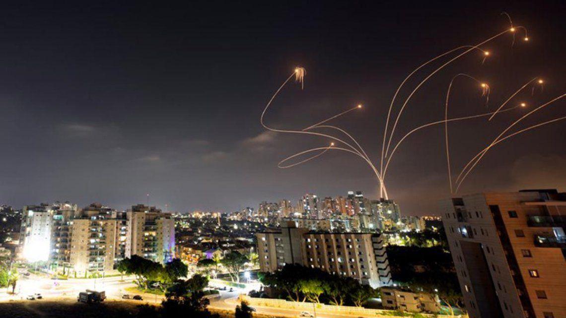 Más de 300 misiles provenientes de Gaza fueron interceptados por Israel con su sistema La cúpula de Hierro.