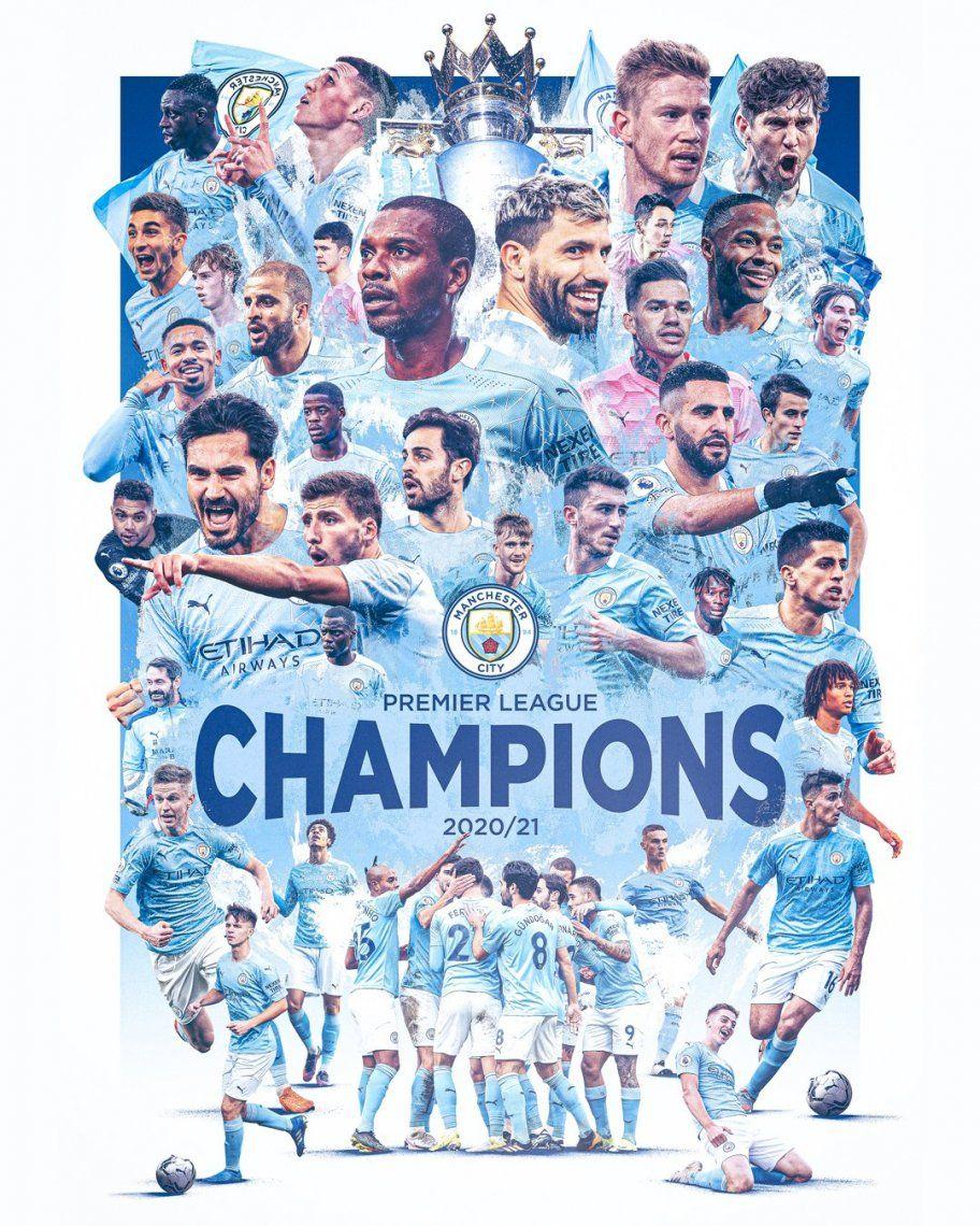 El Manchester City se coronó sin jugar