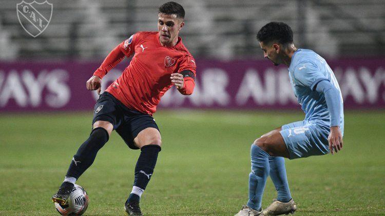 Independiente rescató un punto en el final en Montevideo