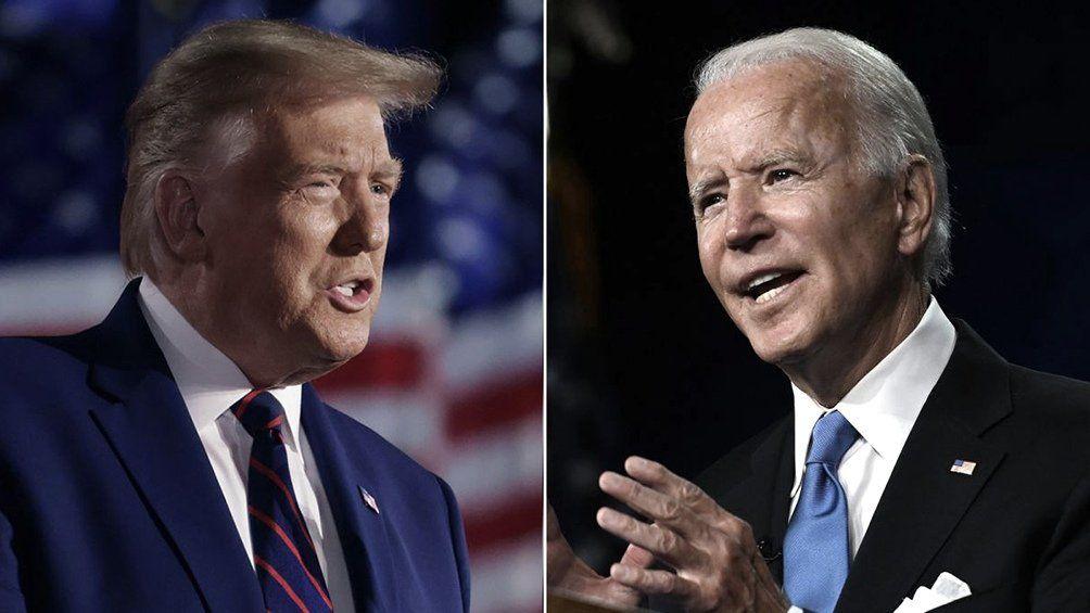 Trump acusó a Biden de actuar con debilidad en la escalada de violencia en la confrontación de Palestina e Israel.