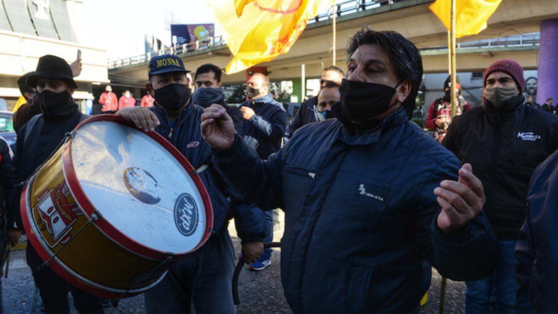 Choferes disidentes a la conducción de Roberto Fernández