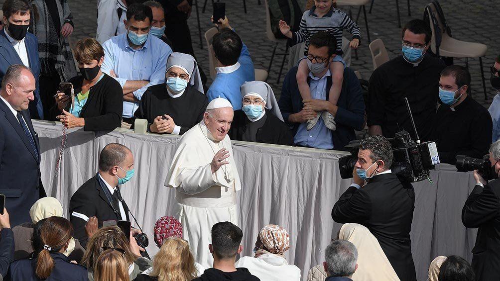 El Papa Francisco retomó las audiencias generales con el público