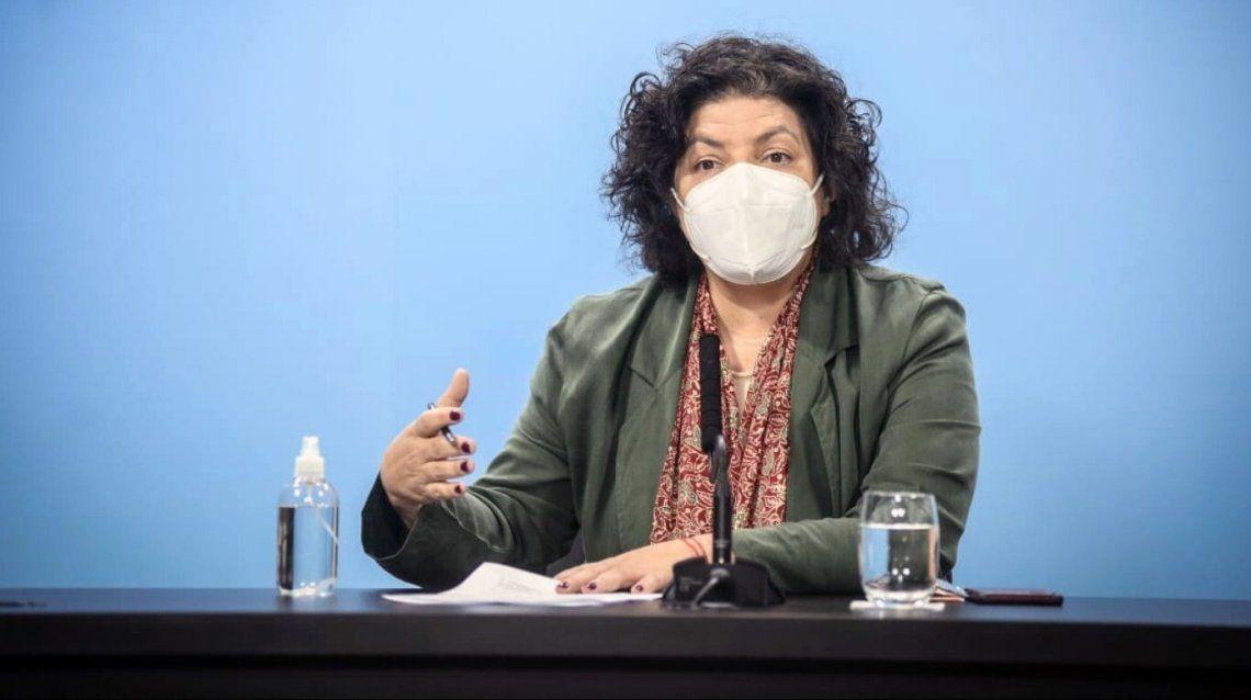 La ministra de Salud defendió las restricciones impuestas para frenar la segunda ola de coronavirus.