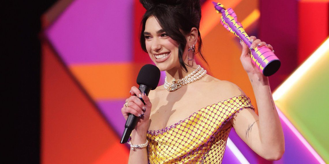 Brit Awards 2021: Dua Lipa, la gran ganadora de los premios musicales británicos