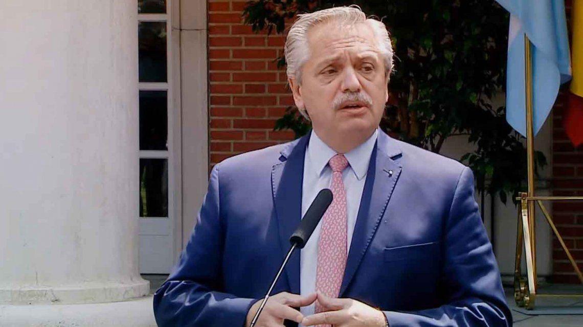 La gira de Alberto Fernández empañada por la el comunicado del Gobierno argentino sobre el ataque de Hamas a Israel