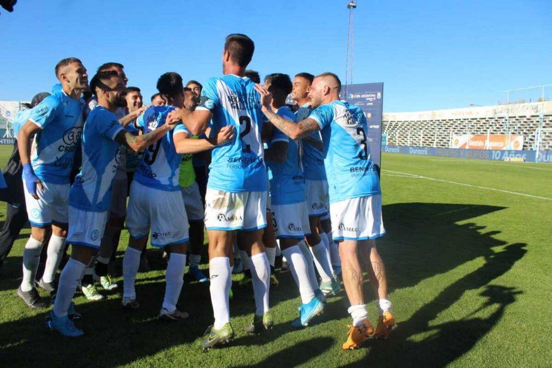 Villa San Carlos sueña con llegar lejos en la Copa Argentina.