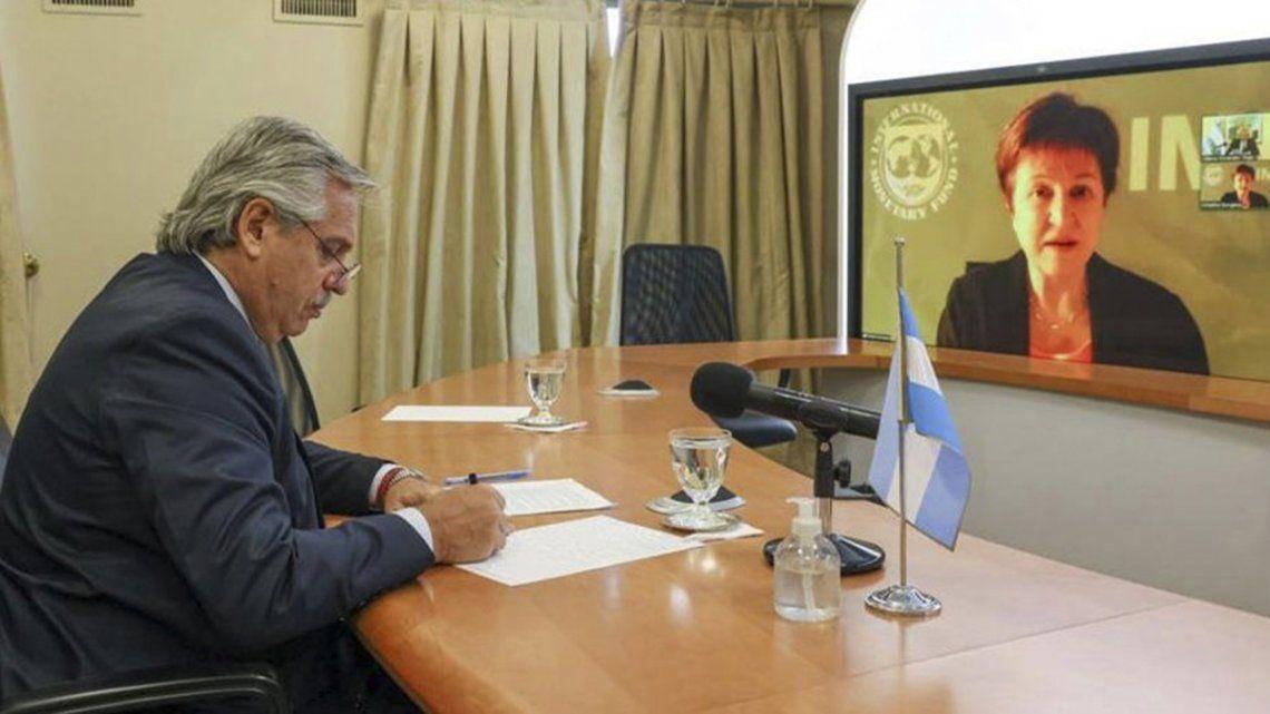 La reunión de Fernández con Georgieva es fundamental para encontrar consensos que permitan esquivar el default.