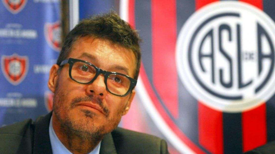 San Lorenzo: Marcelo Tinelli pidió licencia como presidente